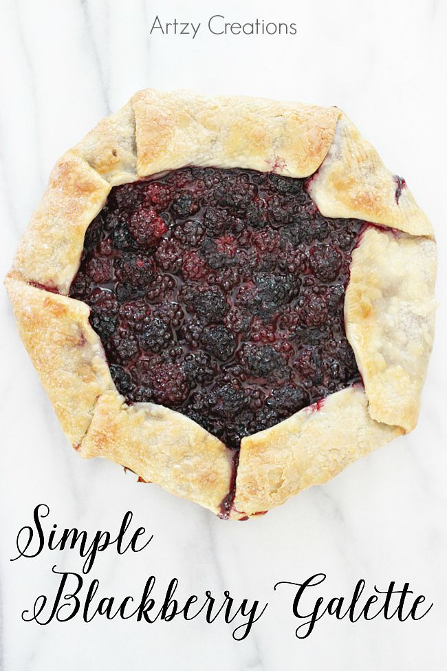 Simple-Blackberry-Galette-Artzy Creations-7