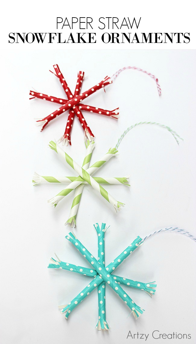Paper-Straw-Snowflake-Ornaments-Artzy Creations 3a